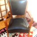Vintage 1930s Art Deco Mid Century Retro Italian Retro Armchair