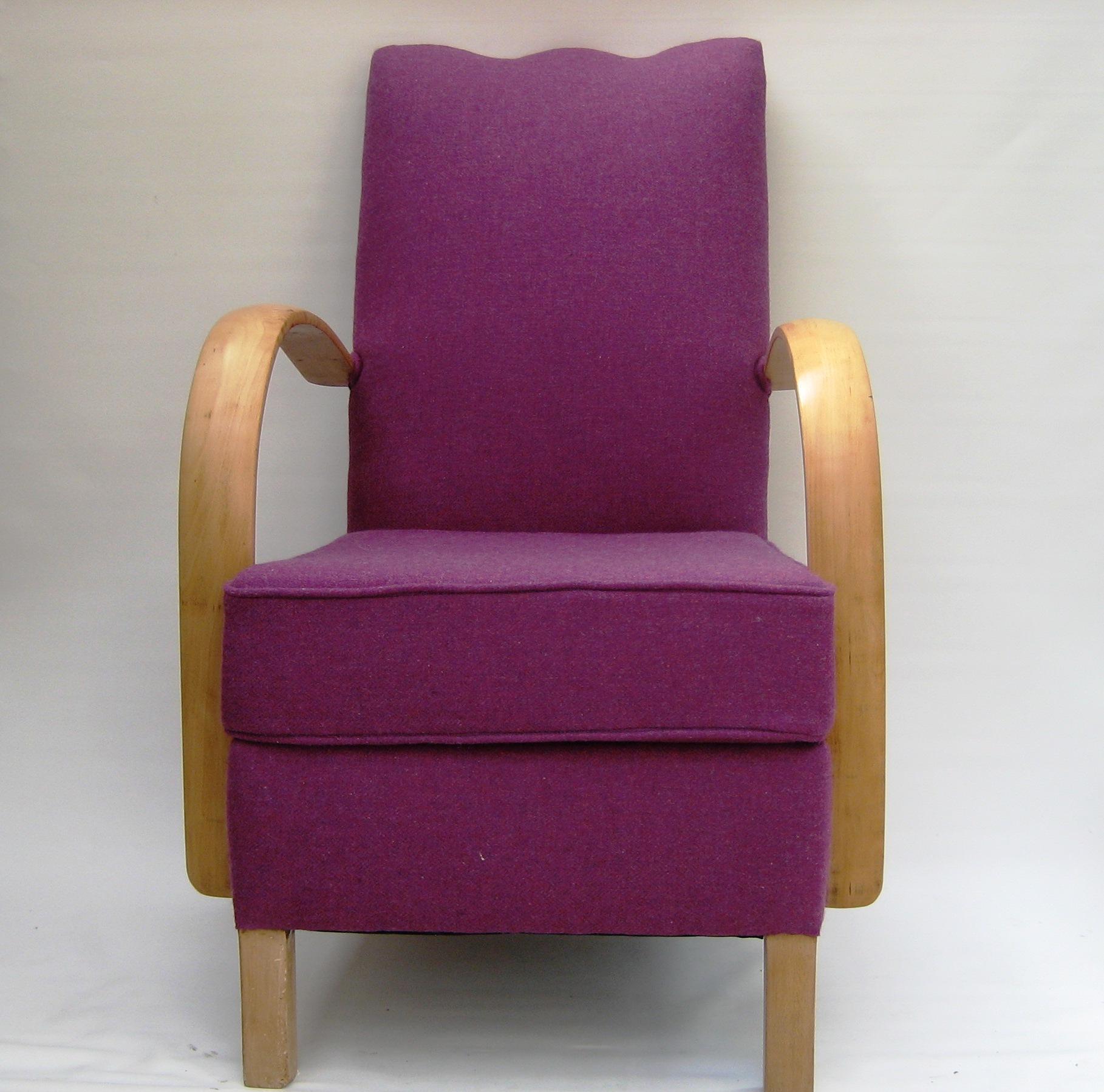 Vintage 1930s Deco Armchair Maud Chairsmaud Chairs