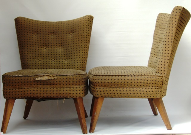 Marvelous 1950s G Plan Cocktail Chairs
