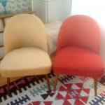 Vintage 1950s Cocktail Chair Danish Mid Century Retro