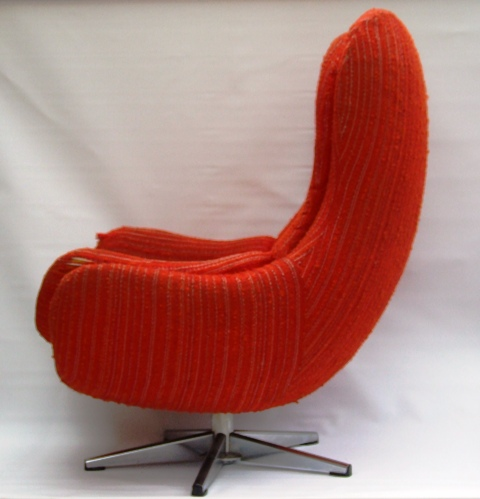 1960s Egg Swedish Egg Chair Vintage 1960s Swedish Egg Chair