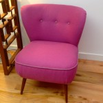 1950s Cocktail Chair Designers Guild Wool