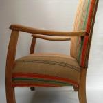 1930s Armchair_vintage french burlap6