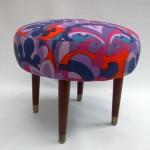 1950s Footstool_vintage Heals fabric1