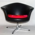 1960s Tub Chair Black
