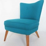 G Plan Cocktail chair recovered in Bute wool