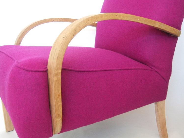 1930s Deco Bent Arm Club Chair Maud Chairsmaud Chairs