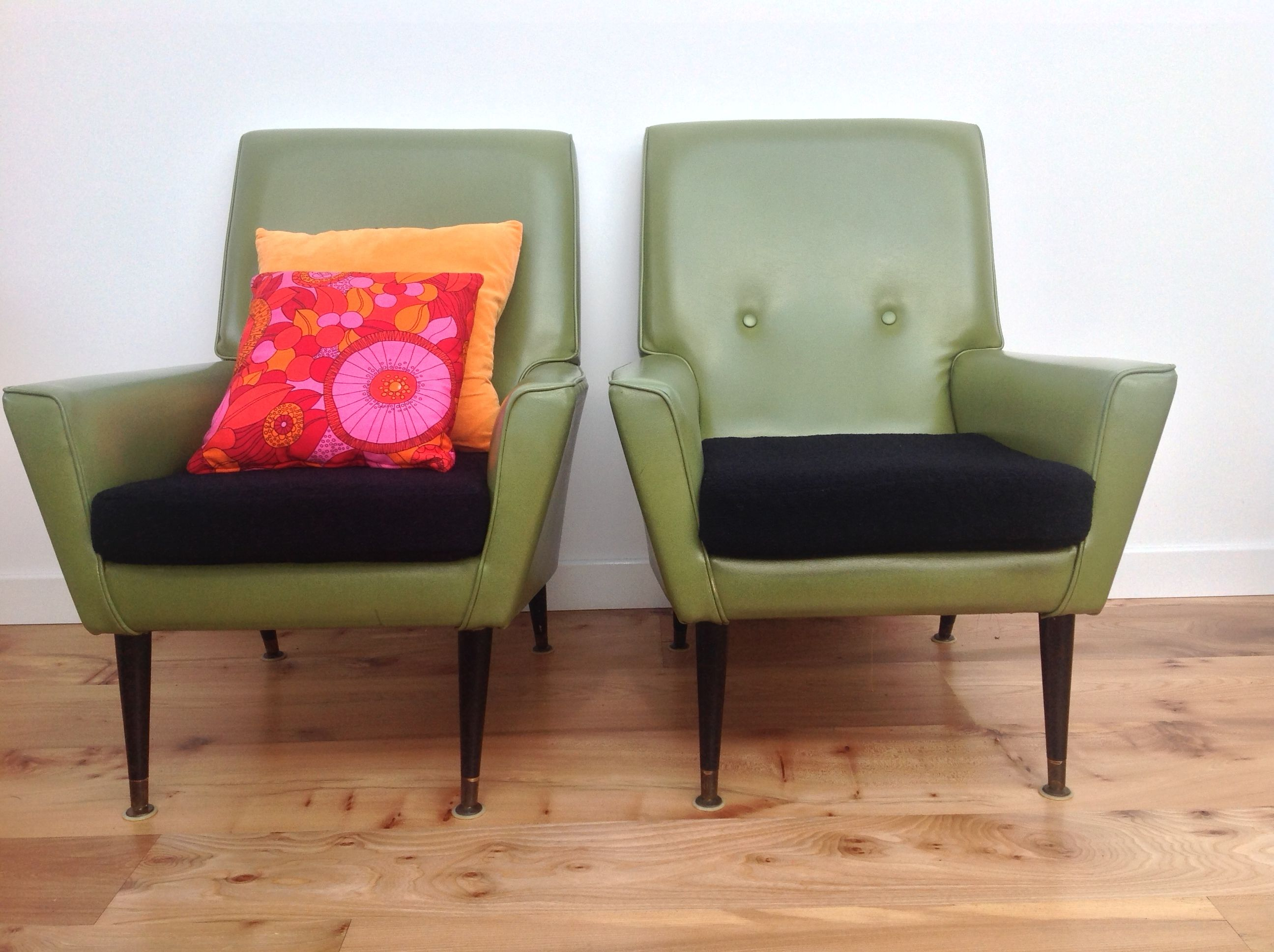 Pair of 1950s Armchairs Maud ChairsMaud Chairs