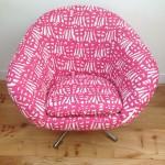 vintage 60s 70s Swivel Egg Chair retro vintage mid century