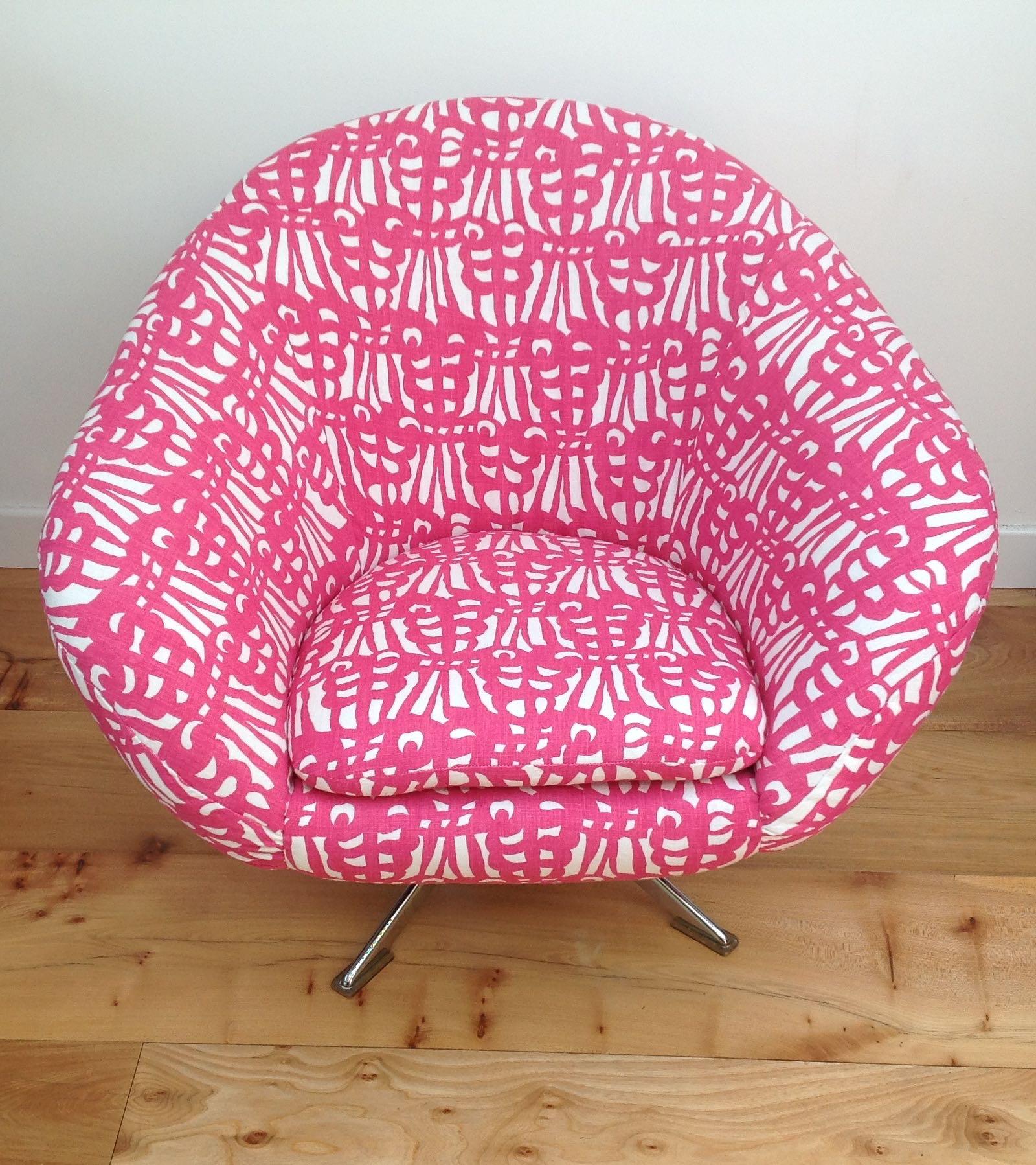 Bon 60s 70s Swivel Egg Chair U2013 2