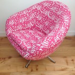 vintage 60s 70s Swivel Egg Chair retro vintage mid century