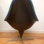 Original Vintage 1960s Lurashell Chair Swivel Base - 3