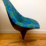 Original Vintage 1960s Lurashell Chair Swivel Base - 4