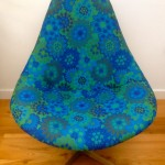 Original Vintage 1960s Lurashell Chair Swivel Base - 8