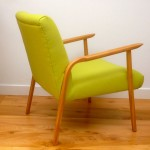 Vintage Danish 50s Lounge Chair boost - 06